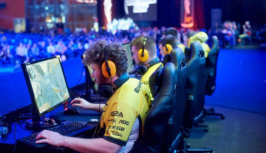 Игроки киберспорт